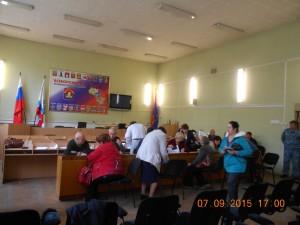 Голосование в ТИК Всеволожского района