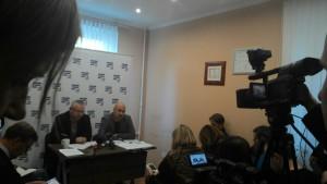 Пресс-конференция правозащитников в Минске